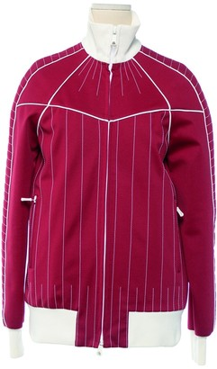 Valentino Red Polyester Jackets