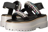 Suecomma Bonnie - Jewel Detailed High Platform Women's Sandals
