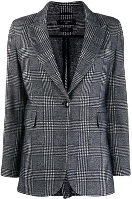 1901 Circolo checked blazer