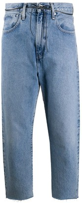 Levi's Made & Crafted Barrel cropped jeans