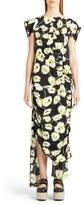 Marni Women's Whisper Print Asymmetrical Dress
