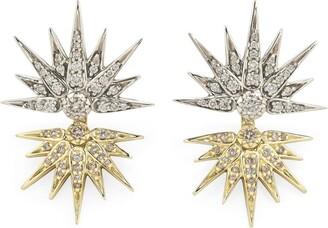 H.Stern Noble Gold And Diamond Genesis Earrings
