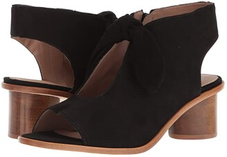 Bernardo Luna Bootie (Black Suede) Women's Shoes