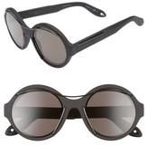 Givenchy Women's 54Mm Retro Sunglasses - Black