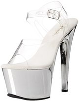 Pleaser USA Women's SKY308/C/SCH Platform Dress Sandal