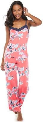 Josie Women's by Natori Sleep Camisole and Pajama Pants Set