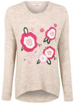 George Floral Embroidered Jumper