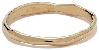 Wouters & Hendrix Gold 18kt Gold Organic Band Ring