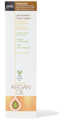 One 'N Only Argan Oil Argan Oil Permanent Color Cream 6NN Rich Natural Dark Blonde
