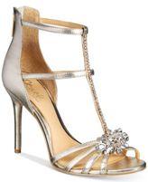 JEWEL By Badgley Mischka Hazel Strappy Evening Sandals