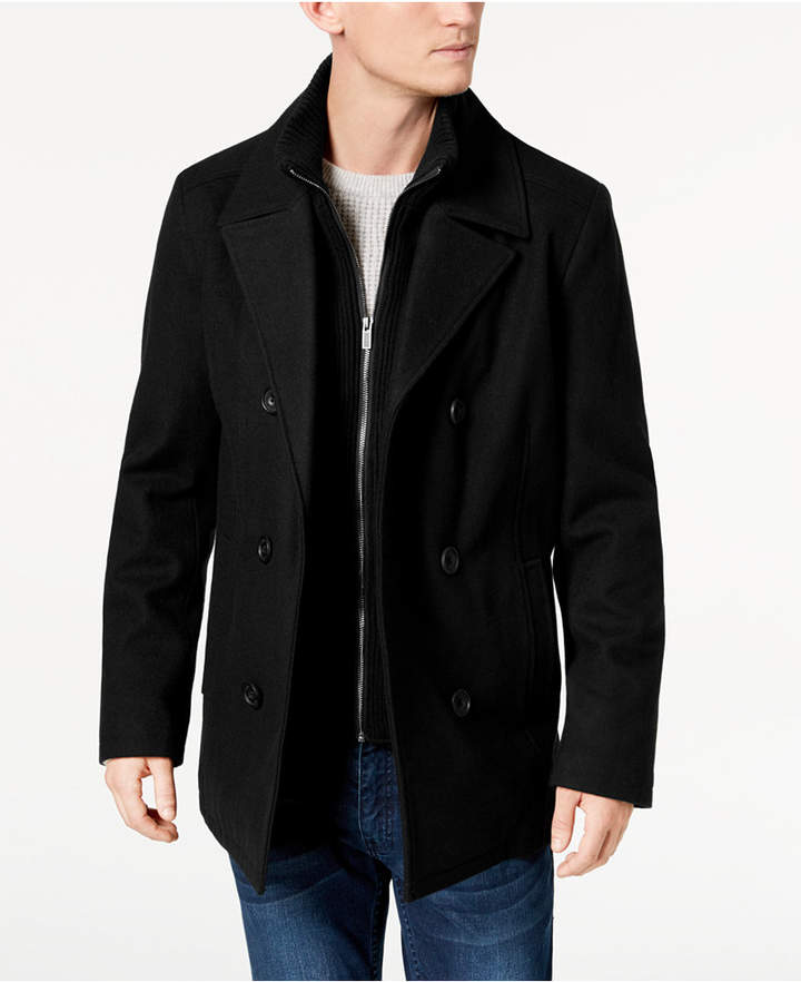 3b3be9e777 Mens Double Breasted Pea Coat - ShopStyle