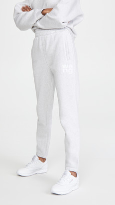 Alexander Wang Foundation Terry Slim Sweatpants