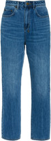 Ksubi Chlo Wasted Rigid High-Rise Straight-Leg Jean