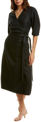Equipment Frecia Linen Wrap Dress