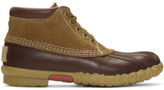 Visvim Brown Decoy Duck Mid-folk Boots