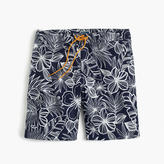 "J.Crew 9"" Board Short In Navy Floral"