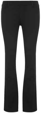 Dorothy Perkins Petite black bootcut jegging