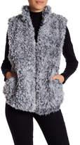 Susina Faux Fur Vest (Petite)