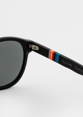 Paul Smith Black 'Deeley' Sunglasses