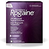 Rogaine Women's Treatment for Hair Loss & Hair Thinning Minoxidil Solution, Three Month Supply