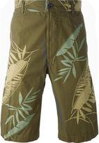 Diesel 'P-Cooper' tropical print bermuda shorts