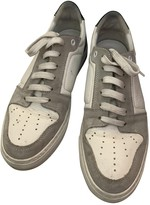 Ami White Leather Trainers