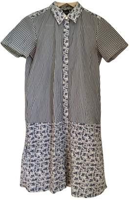 Suno Multicolour Cotton Dress for Women
