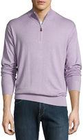 Peter Millar Crown Soft Quarter-Zip Pullover Sweater