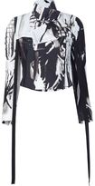 Ann Demeulemeester 'Victoria Wings' jacket - women - Silk/Viscose - 36