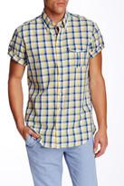 Gant O. Ocean Fresh Madras Check Short Sleeve Regular Fit Shirt