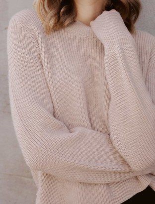 Ever New Sharnie Ribbed Wool Jumper