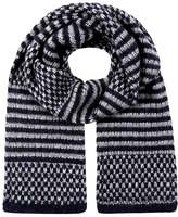 Closed Scarf navy
