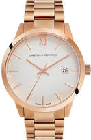 Larsson & Jennings Saxon 39mm Automatic gold-plated stainless steel watch