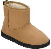 Dearfoams Women's Microsuede Boot Slipper with Memory Foam