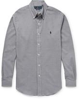 Polo Ralph Lauren Button-Down Collar Houndstooth Cotton Shirt