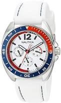 Nautica Unisex N09907G Sport Ring Multifunction White Box Set Watch