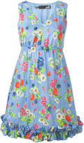 Love Moschino floral print dress - women - Cotton - 38
