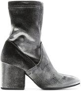 Strategia velvet ankle boots