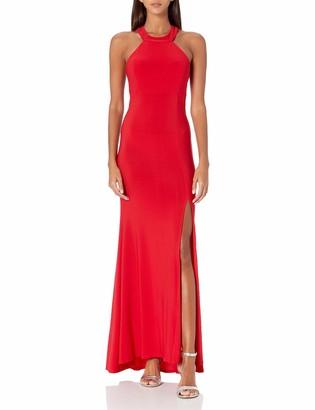 Jump Women's Slim Jersey Halter Gown