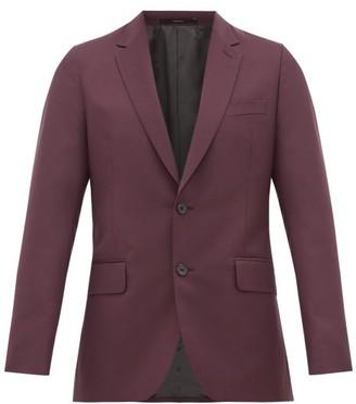 Paul Smith Soho-fit Wool-blend Crepe Suit Jacket - Purple