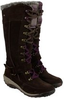 Cushe Allpine Tundra Womens Brown Purple Suede Casual Dress Boots Shoes 6