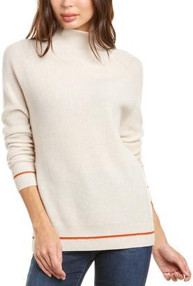 Kier & J Mock Raglan Cashmere Sweater