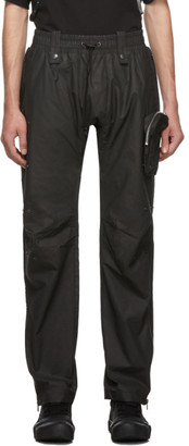 Blackmerle Black Drawstring Trousers