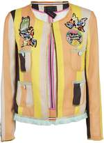 Femme By Michele Rossi Striped Cardigan
