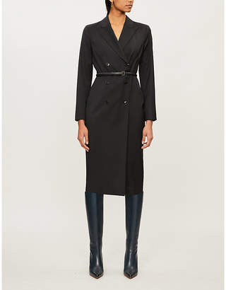 Max Mara Viale double-breasted wool dress