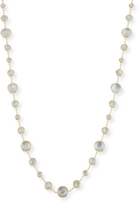"""Ippolita 18K Lollipop® Lollitini Long Necklace in Mother-of-Pearl Doublet & Mother-of-Pearl, 36"""""""