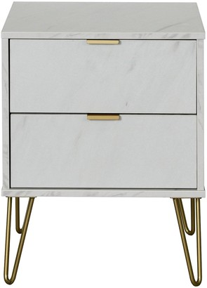 Swift Marbella Ready Assembled 2 Drawer Bed Chest with Integrated Wireless Charging
