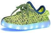 Fuiigo Men's & Women's LED Shoes Luminous Flashing Sneakers 38