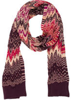 Missoni Multicolored Chevron Scarf