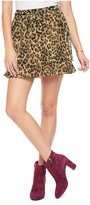 Juicy Couture Regent Leopard Skirt